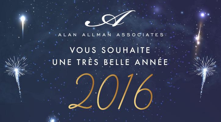 Très belle année 2016 !